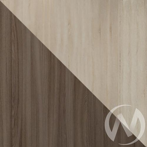 Купить стеллаж ромео-4 (ясень шимо/дуб сонома) в Иркутске в интернет магазине Мебель Максимум