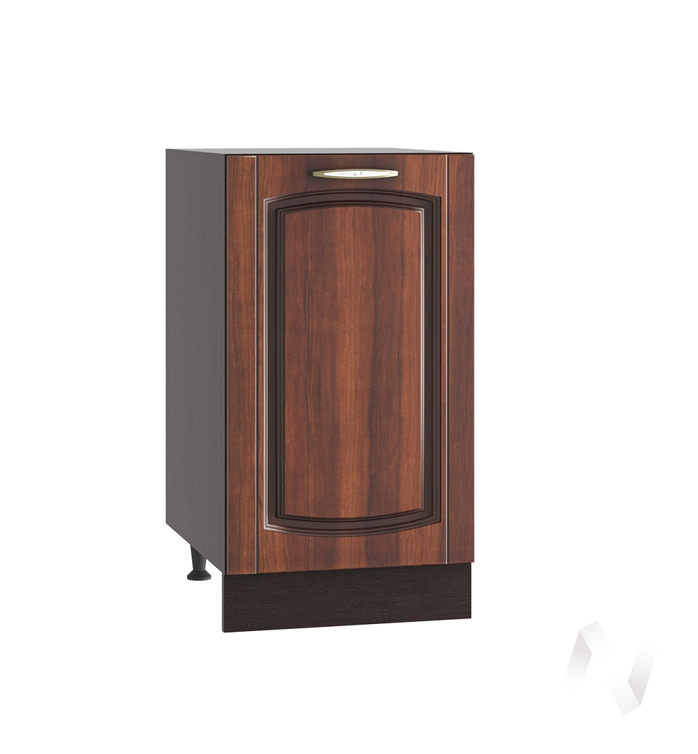 """Кухня """"Неаполь"""": Шкаф нижний 400, ШН 400 (Италия/корпус венге)"""