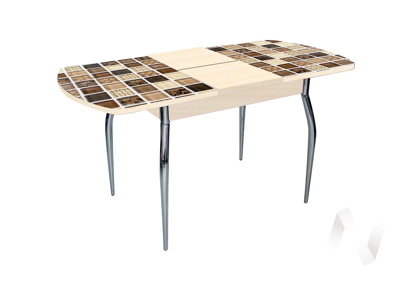 Стол раздвижной Asti-Foto1 (дуб/стекло №5)  в Томске — интернет магазин МИРА-мебель