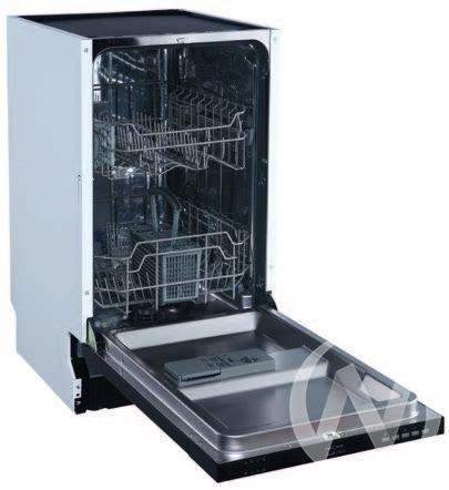 Посудомоечная машина встраиваемая DELIA 45 BI  в Томске — интернет магазин МИРА-мебель