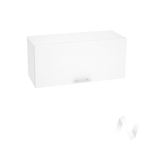 "Кухня ""Валерия-М"": Шкаф верхний горизонтальный 800, ШВГ 800 (белый металлик/корпус белый)"