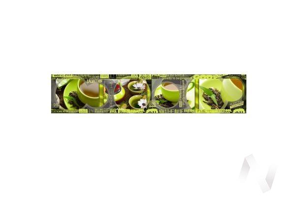 Панель декоративная АВС пластик 600*3000 Кофе (504) фф132