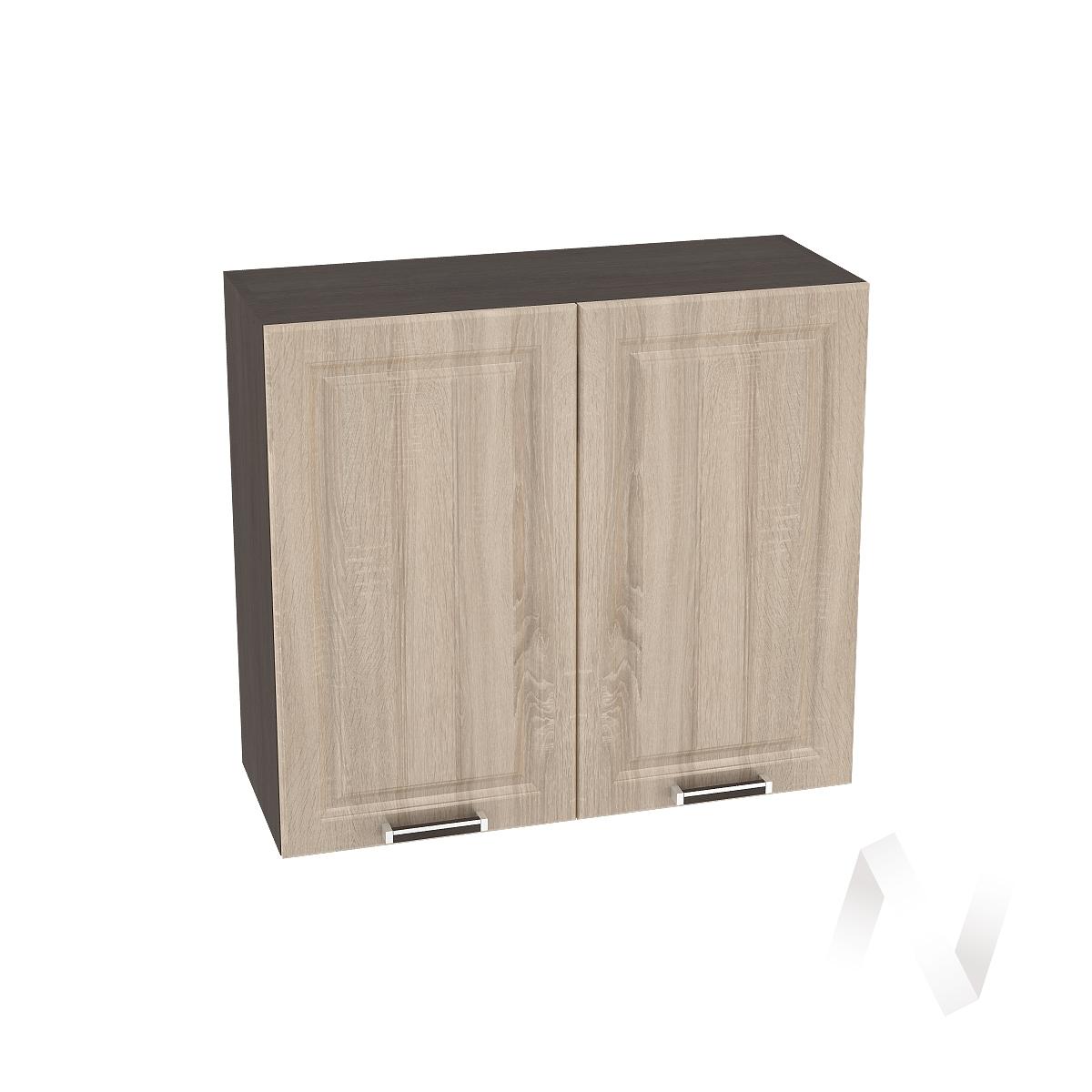 "Кухня ""Прага"": Шкаф верхний 800, ШВ 800 (дуб сонома/корпус венге)"