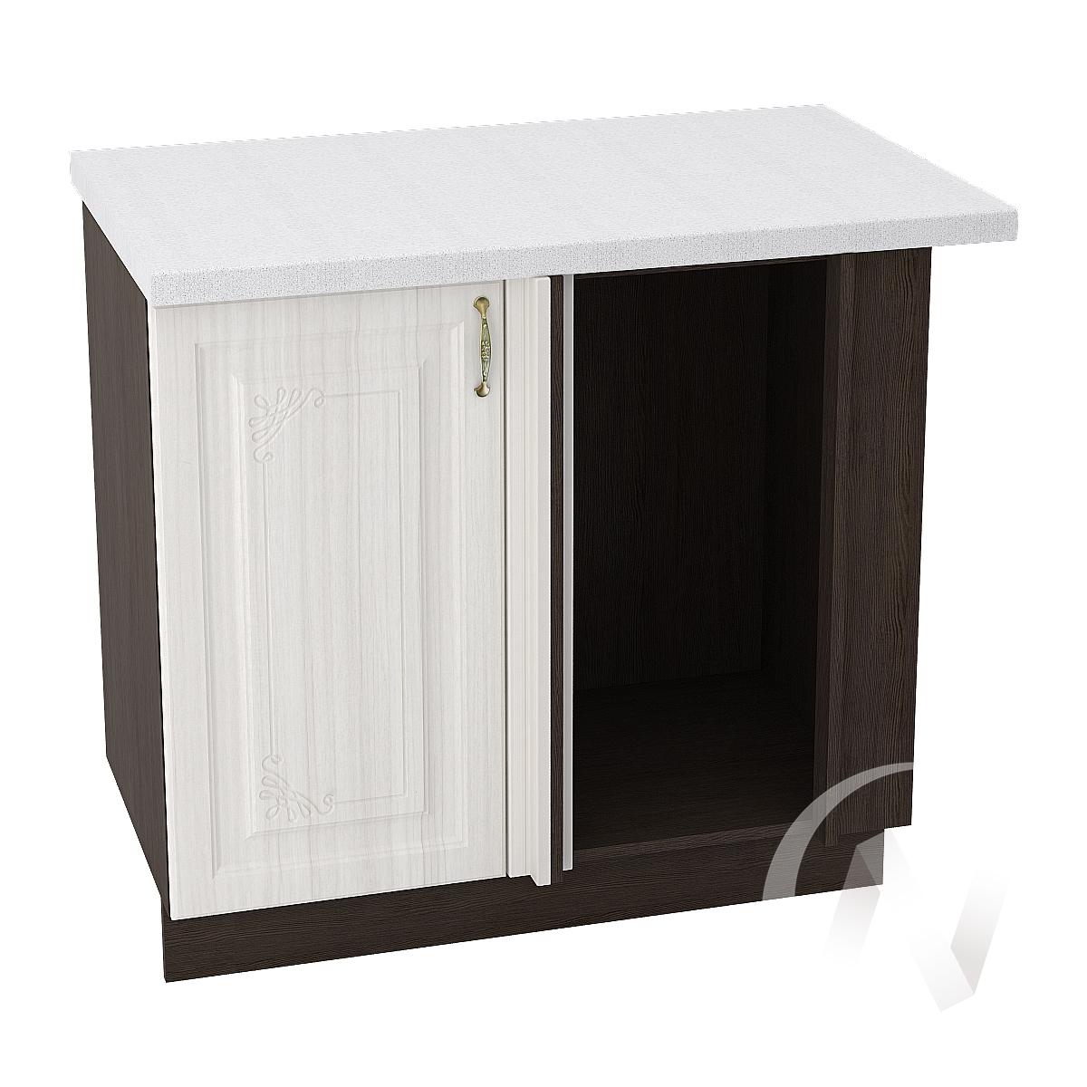 """Кухня """"Виктория"""": Шкаф нижний угловой 990М, ШНУ 990М (корпус венге)"""