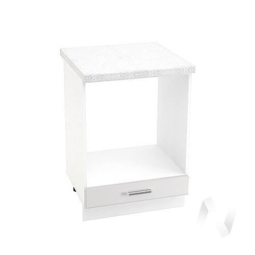 "Кухня ""Вена"": Шкаф нижний под духовку 600, ШНД 600 (корпус белый)"