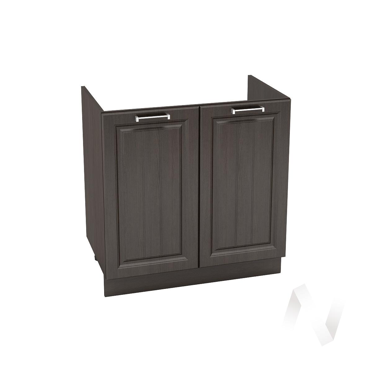 "Кухня ""Прага"": Шкаф нижний под мойку 800, ШНМ 800 (венге/корпус венге)"
