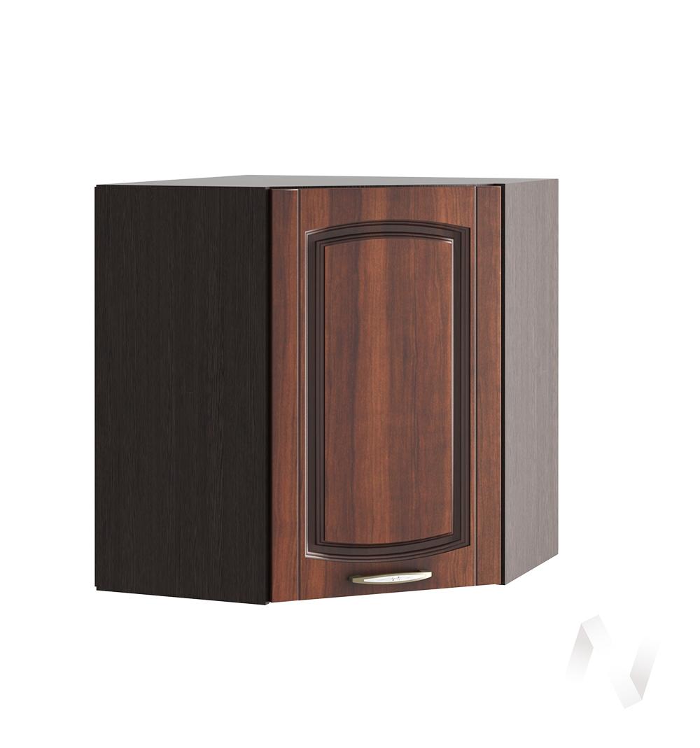 """Кухня """"Неаполь"""": Шкаф верхний угловой 590, ШВУ 590 (Италия/корпус венге)"""