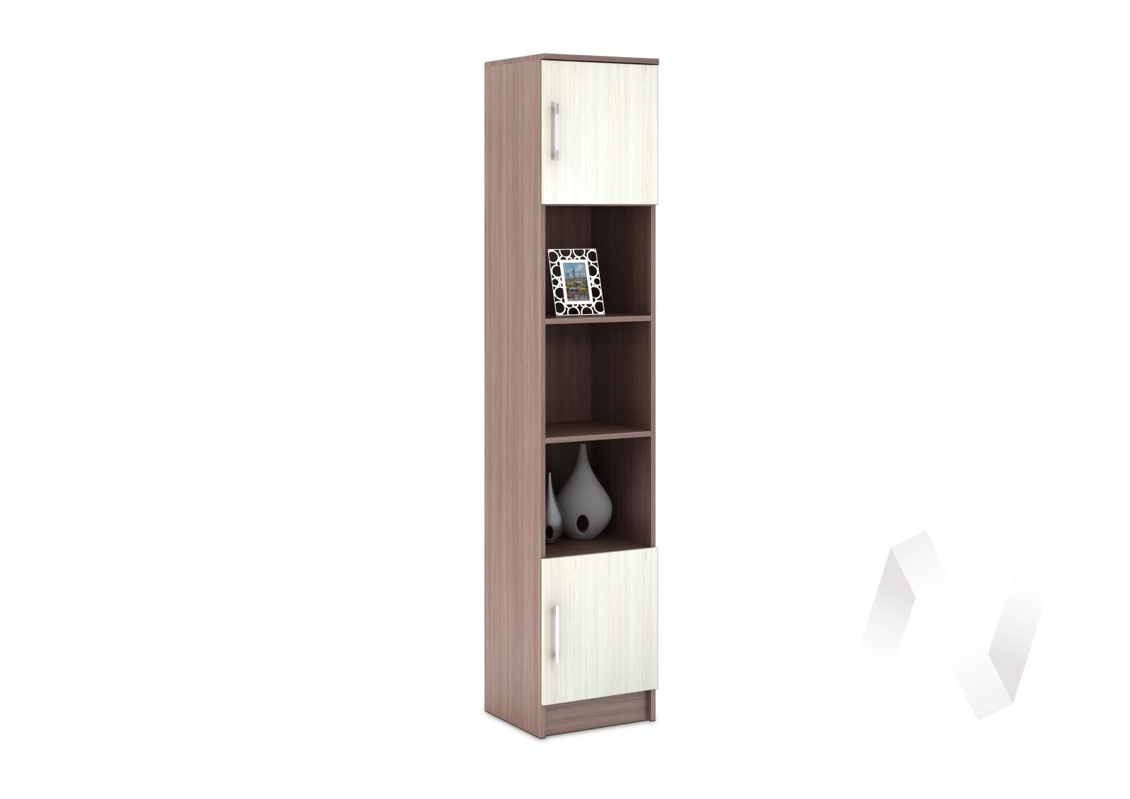 Шкаф пенал Машенька (ясень шимо светлый) ШК-100
