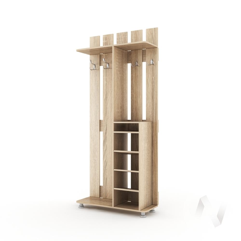 Прихожая Виктория - 11 (дуб сонома)  в Томске — интернет магазин МИРА-мебель