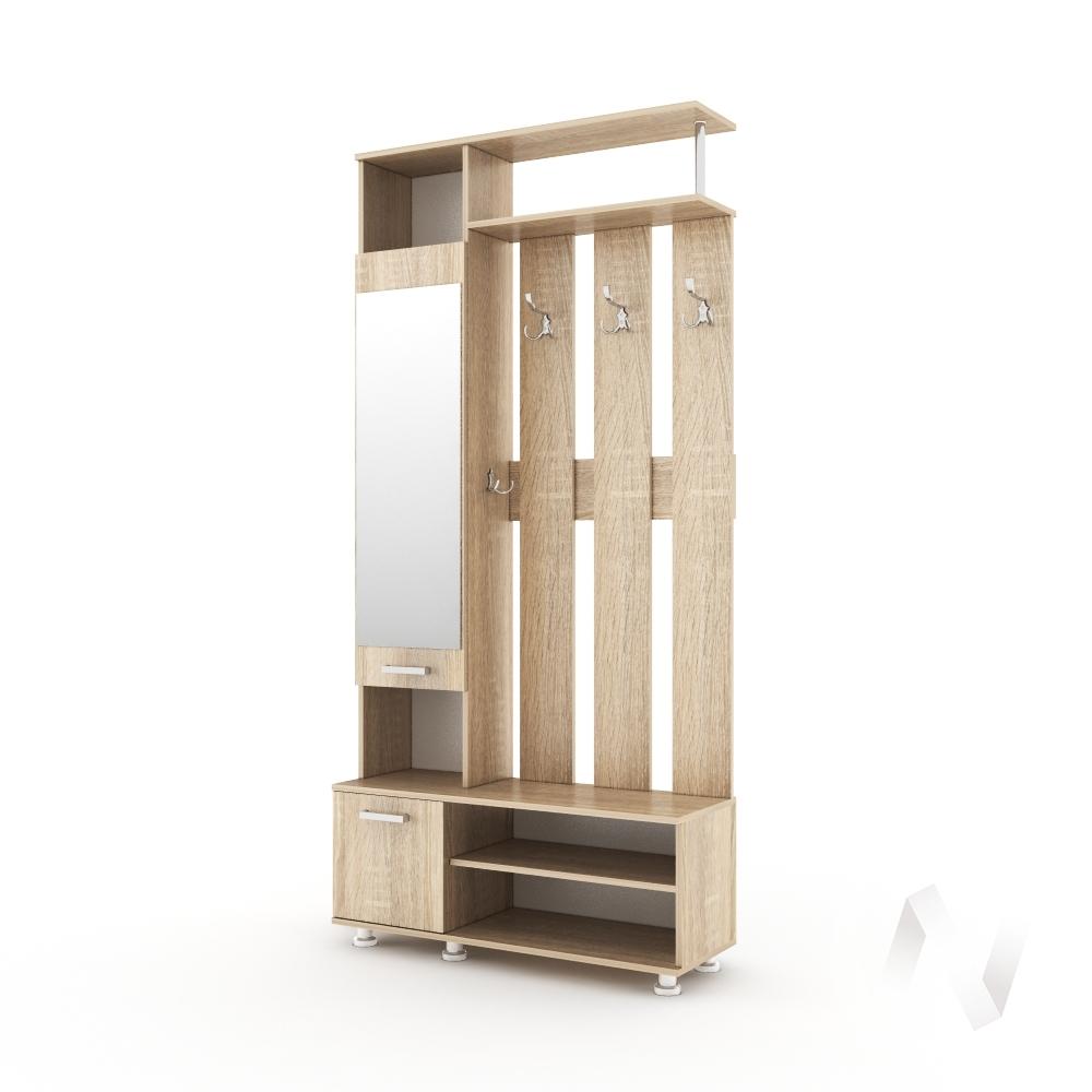 Прихожая Виктория - 12 (дуб сонома)  в Томске — интернет магазин МИРА-мебель