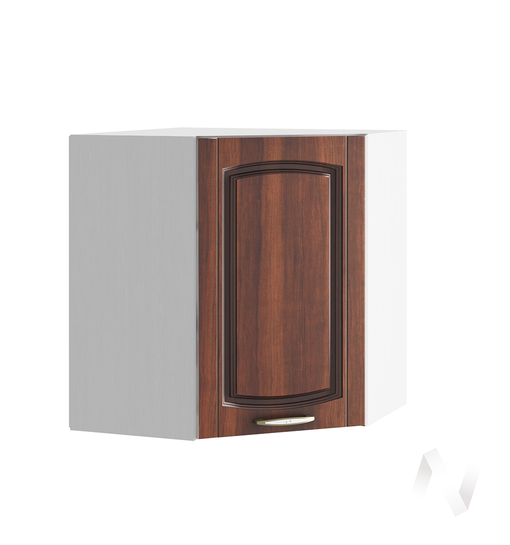 """Кухня """"Неаполь"""": Шкаф верхний угловой 590, ШВУ 590 (Италия/корпус белый)"""
