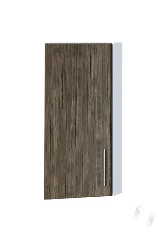 """Кухня """"Норден"""": Шкаф верхний торцевой 224, ШВТ 224 (старое дерево/корпус белый)"""