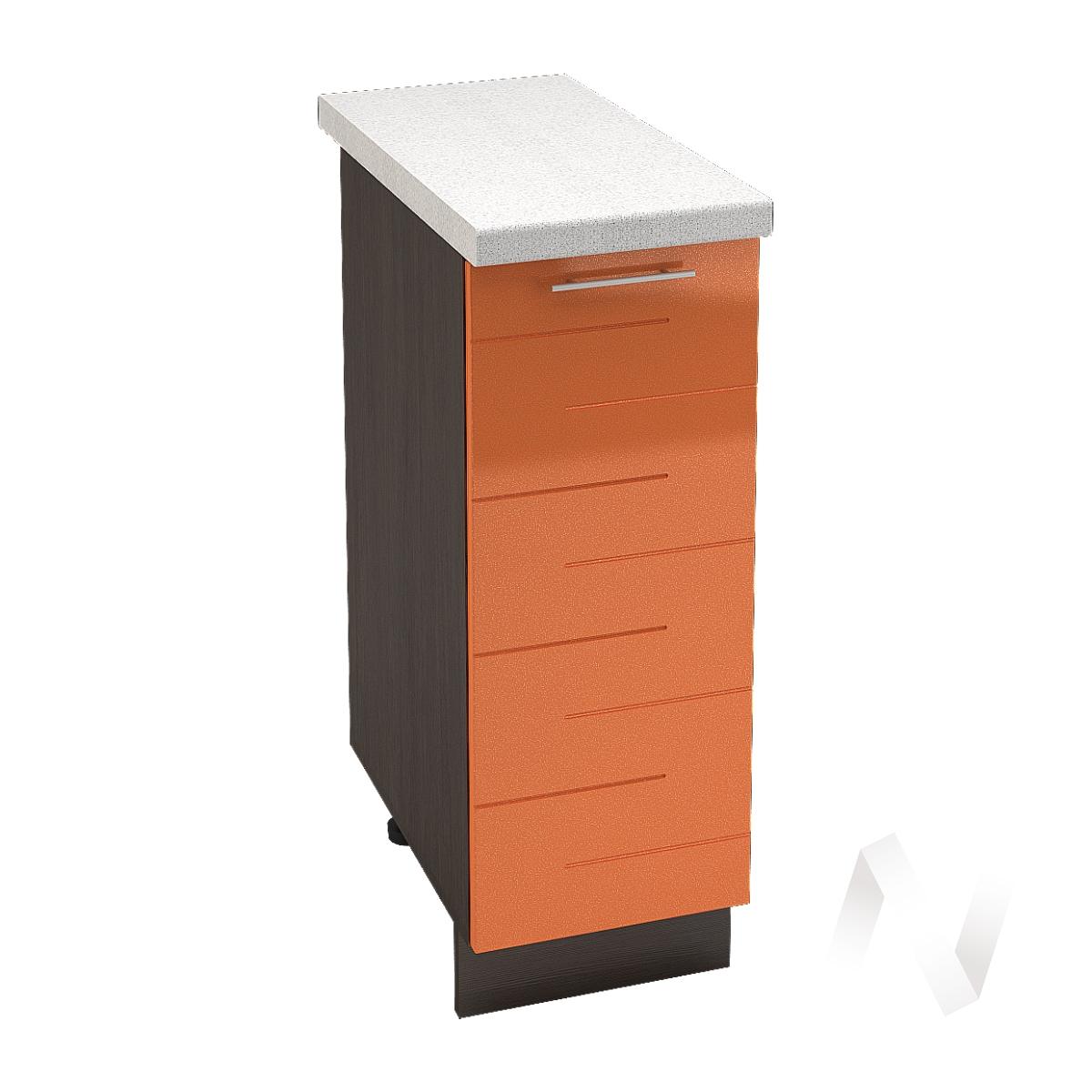 """Кухня """"Техно"""": Шкаф нижний 300, ШН 300 (корпус венге) в Новосибирске в интернет-магазине мебели kuhnya54.ru"""