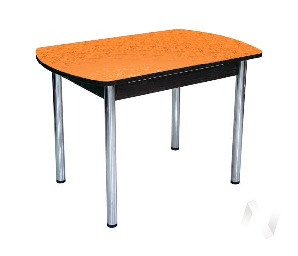 Стол Премьер (цветы оранжевые)