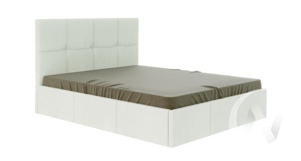 Кровать Куба 1,6 с подъемным механизмом (белый)