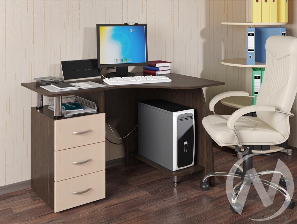 Стол компьютерный Лорд NEW (венге/лоредо)