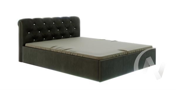 Кровать Калипсо 1,6 с подъемным механизмом (коричневый)