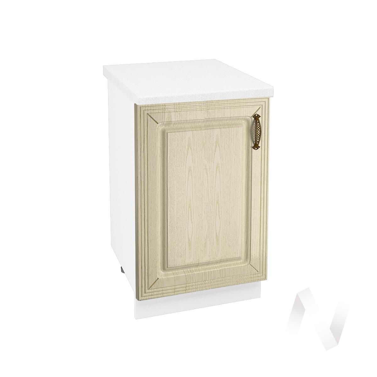 "Кухня ""Изабель"": Шкаф нижний 500, ШН 500 (корпус белый)"