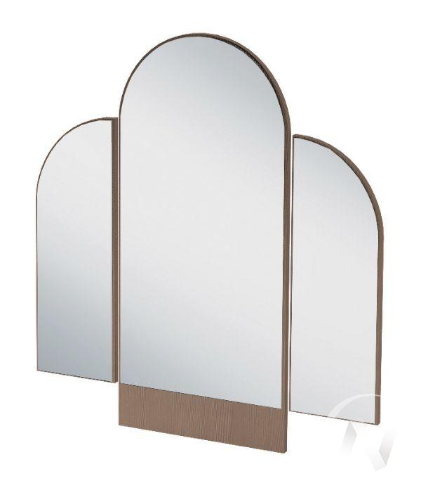 Зеркало трельяжное ЗР 552 Спальня Бася (шимо темный)