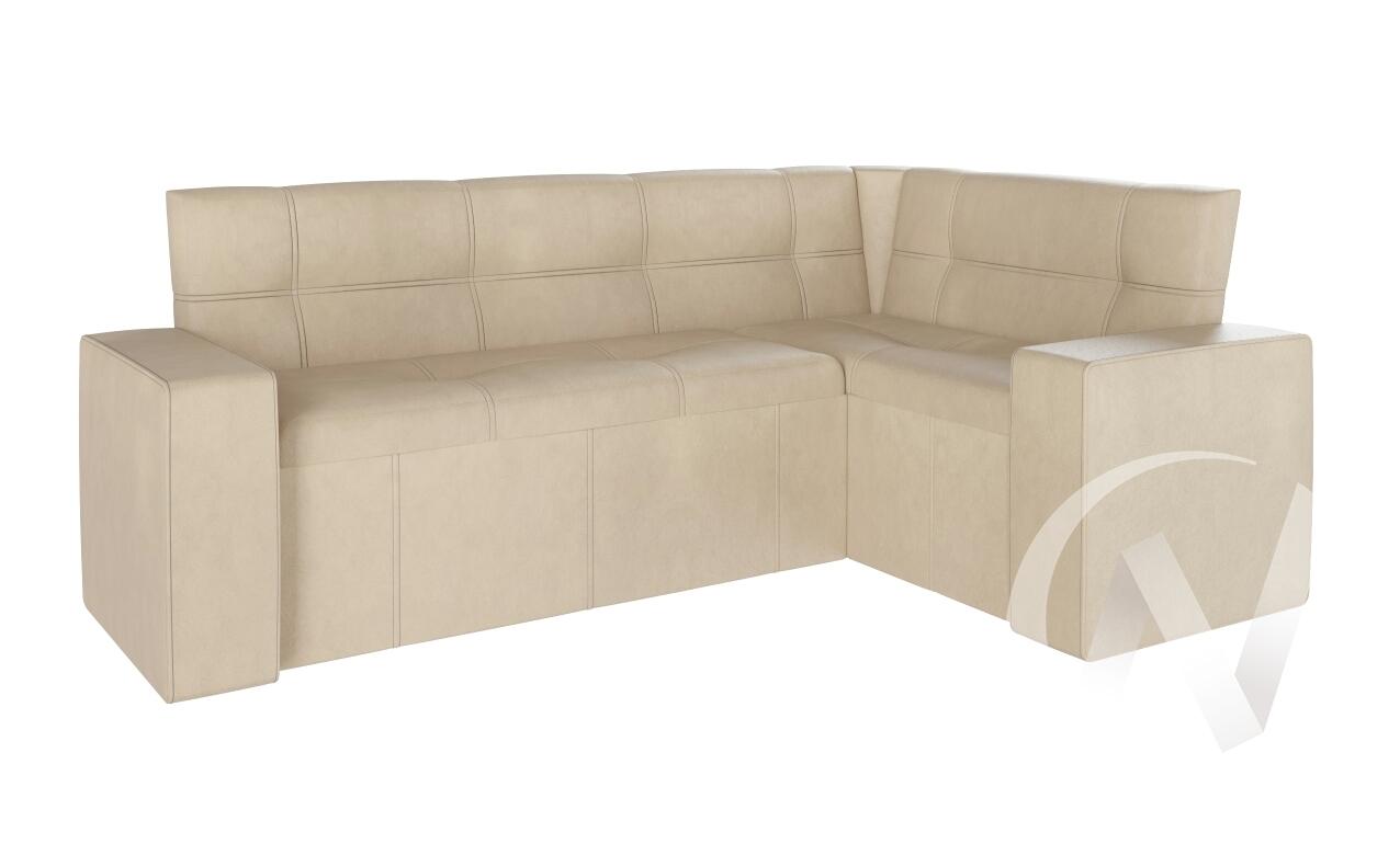 Скамья угловая со спальным местом Квадро тип 4 (гольф/бежевый)