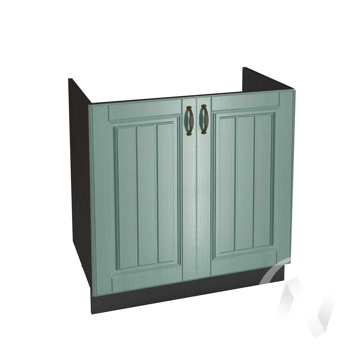 """Кухня """"Прованс"""": Шкаф нижний под мойку 800, ШНМ 800 (корпус венге)"""
