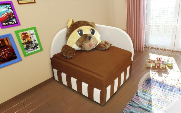 Топтыжка диван детский правый