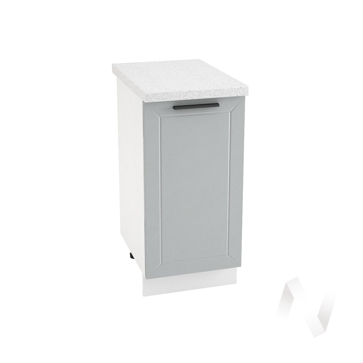 "Кухня ""Глетчер"": Шкаф нижний 500, ШН 500 (Гейнсборо Силк/корпус белый)"