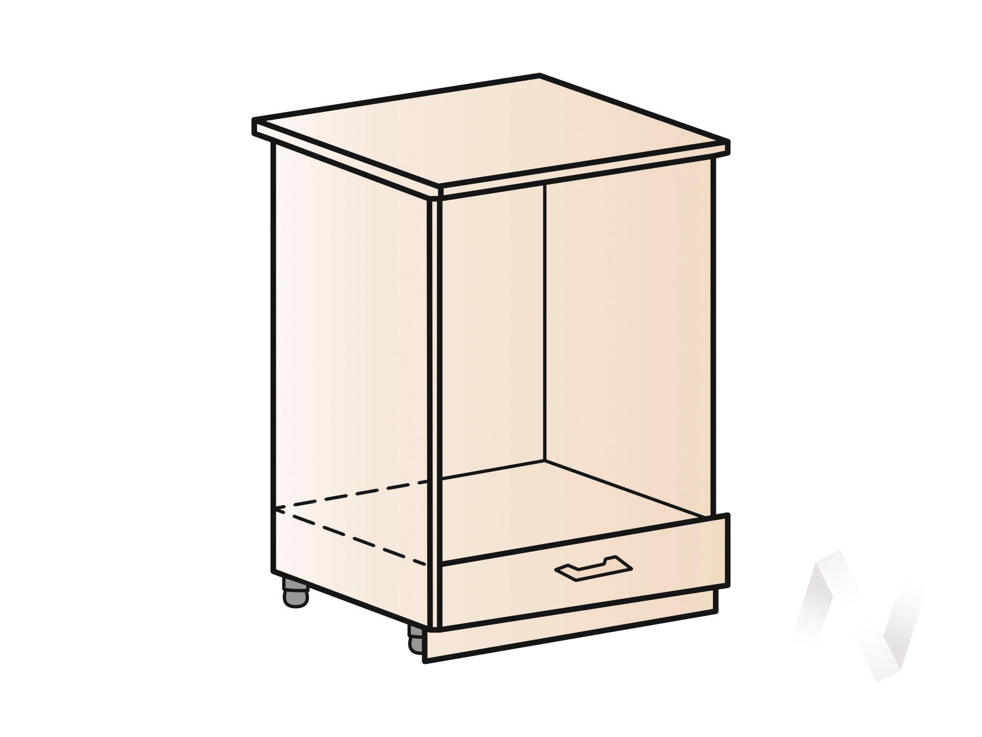 """Купить кухня """"вена"""": шкаф нижний под духовку 600, шнд 600 (корпус белый) в Новосибирске в интернет-магазине Мебель плюс Техника"""