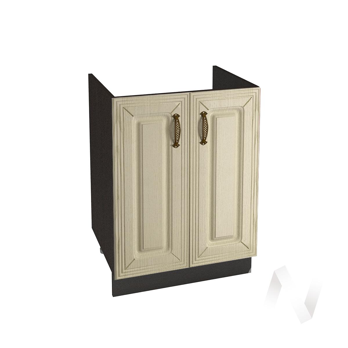 """Кухня """"Изабель"""": Шкаф нижний под мойку 600, ШНМ 600 (корпус венге)"""