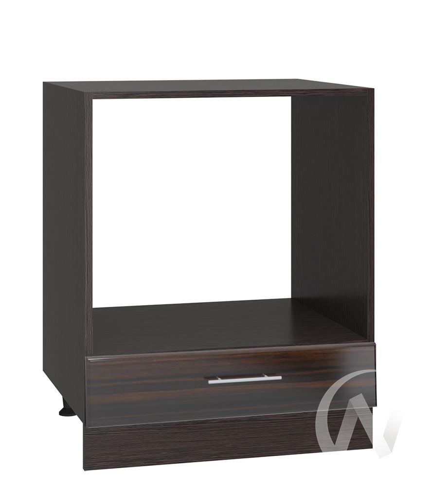 "Кухня ""Норден"": Шкаф нижний под духовку 600, ШНД 600 (эбен/корпус венге)"