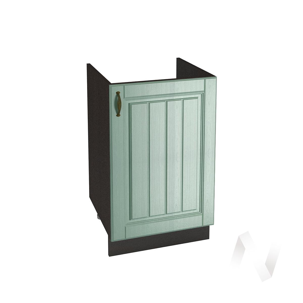 """Кухня """"Прованс"""": Шкаф нижний под мойку 500, ШНМ 500 (корпус венге)"""