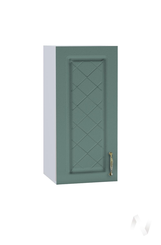 """Кухня """"Селена"""": Шкаф верхний 300, ШВ 300 (Дуб бирюзовый/корпус белый)"""