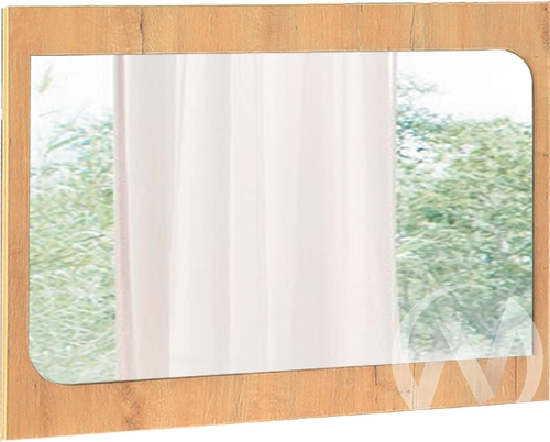 Космос М8 Зеркало (дуб бунратти/бетон чикаго)  в Томске — интернет магазин МИРА-мебель