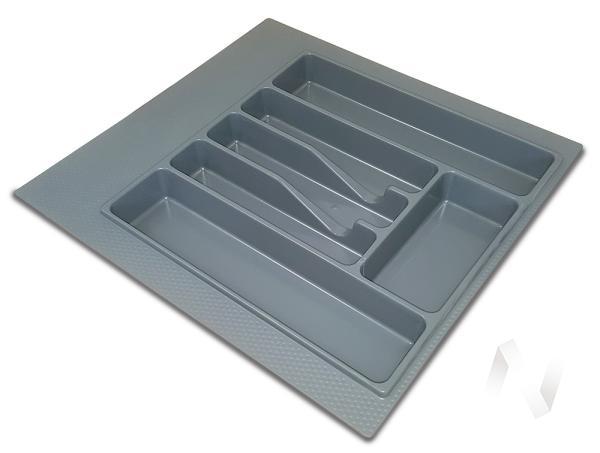 Лоток для столовых приборов 500 (серый)
