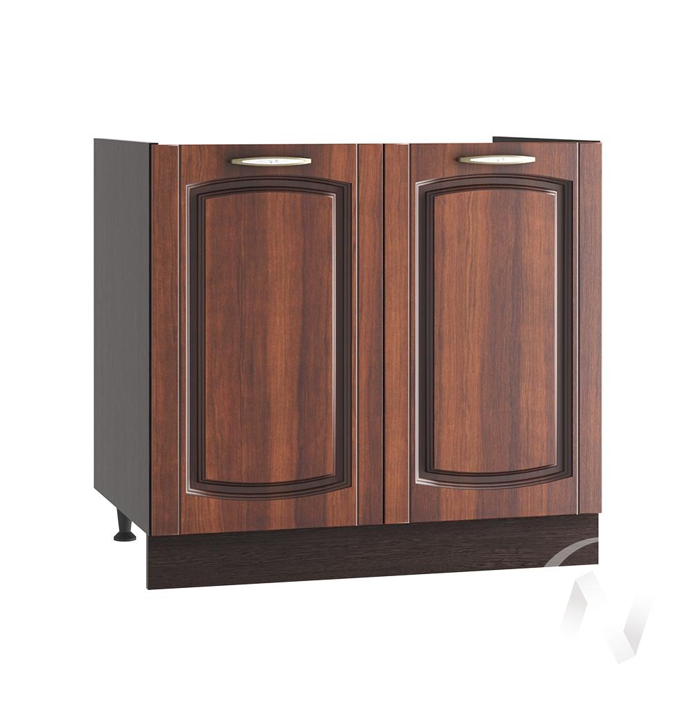 """Кухня """"Неаполь"""": Шкаф нижний под мойку 800, ШНМ 800 (Италия/корпус венге)"""