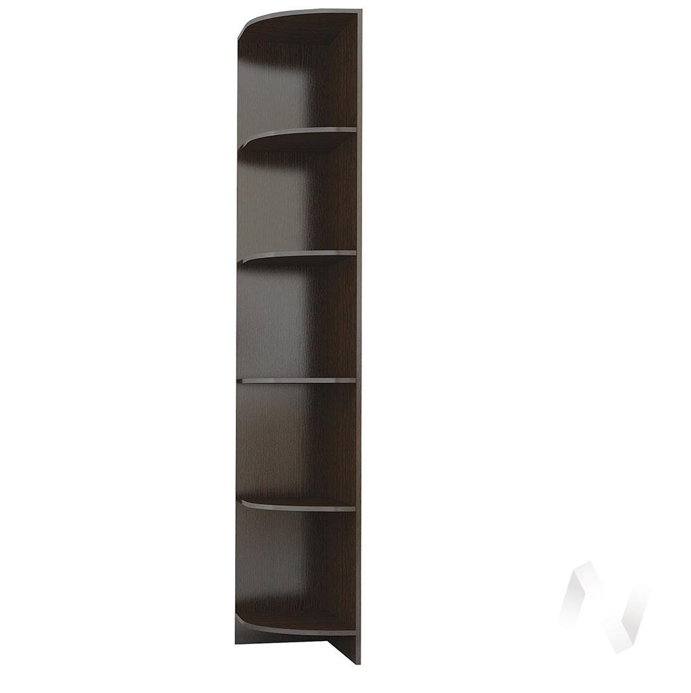 Угловое завершение Комфорт-1 (венге) недорого в Томске — интернет-магазин авторской мебели Экостиль