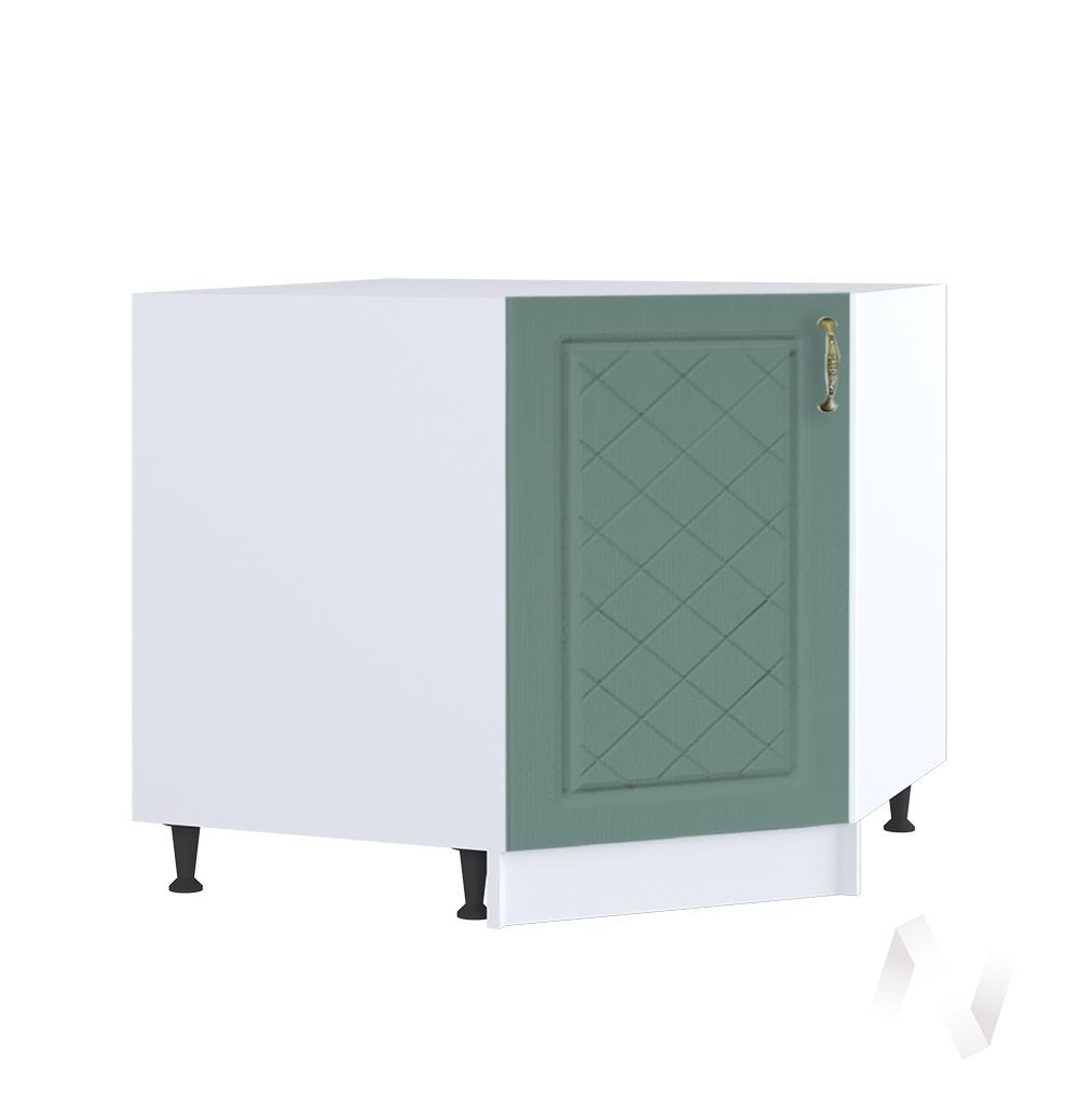 """Кухня """"Селена"""": Шкаф нижний угловой 890, ШНУ 890 (Дуб бирюзовый/корпус белый)"""