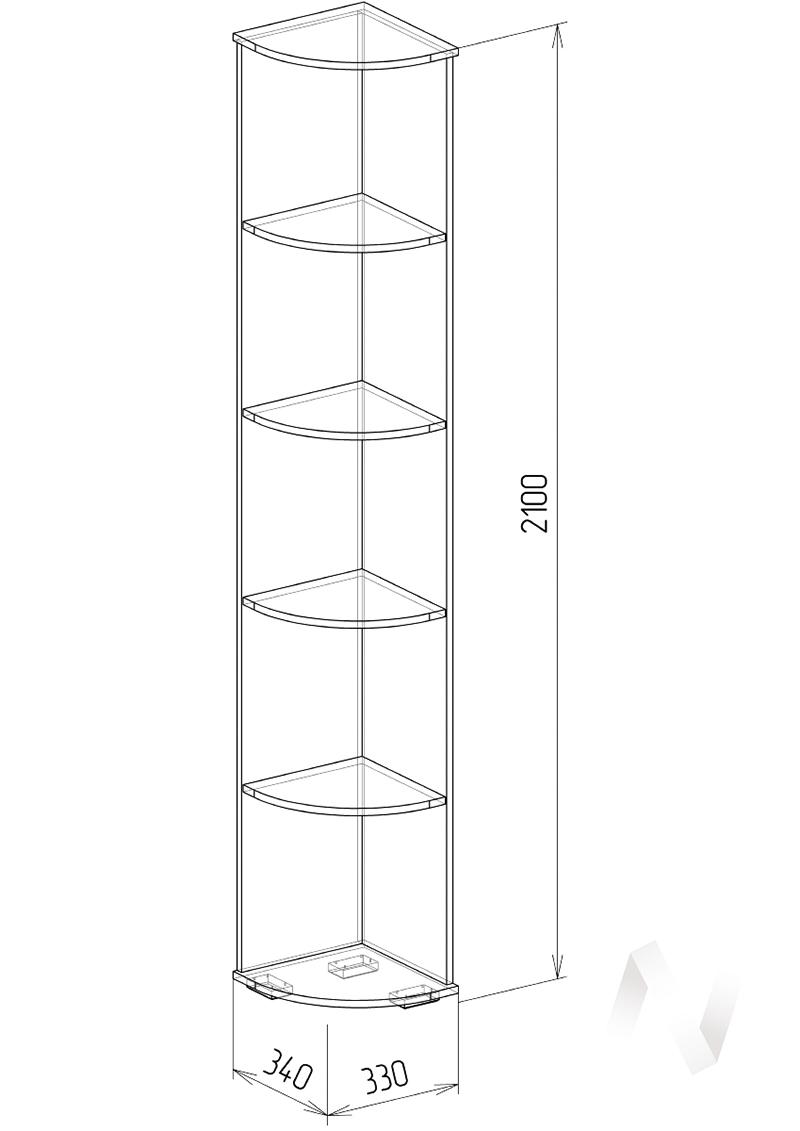 Нежность М16 Угловое завершение 0,34 (бодега/прованс)