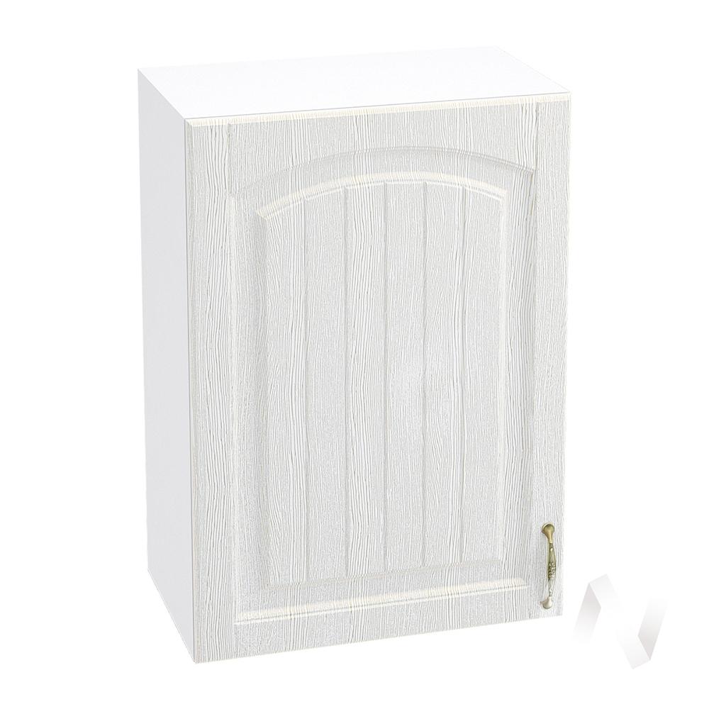 """Кухня """"Верона"""": Шкаф верхний 500 левый, ШВ 500 (ясень золотистый/корпус белый)"""