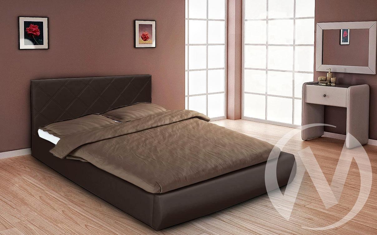 Кровать Эко с подъемным механизмом 1,6 (темно-коричневый)  в Томске — интернет магазин МИРА-мебель