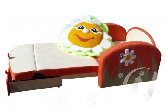 Ромашка диван детский  в Томске — интернет магазин МИРА-мебель