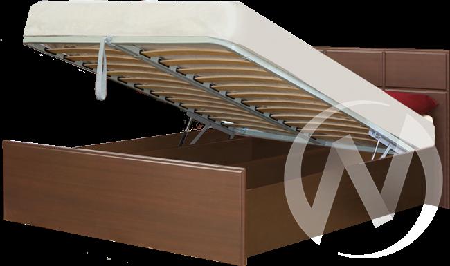 Палермо Кровать 1,4 с подъемным механизмом (венге-венге дуглас)