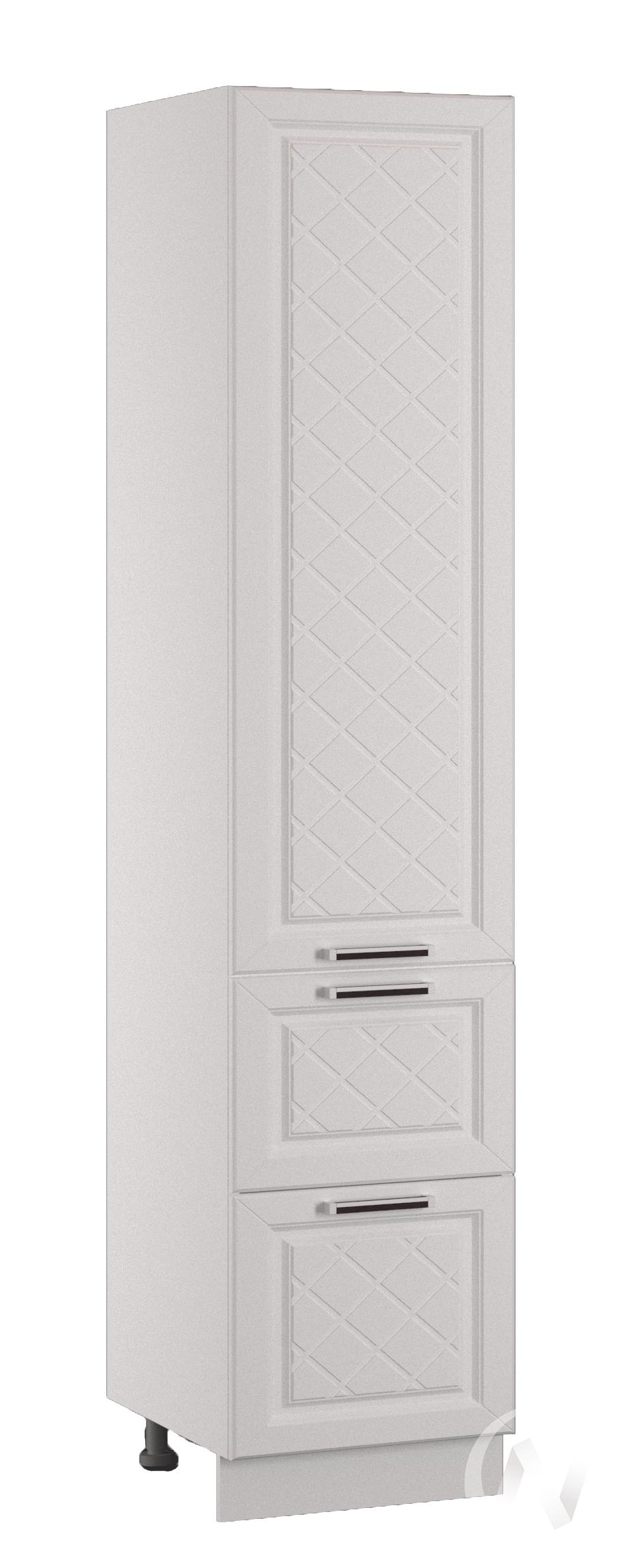 """Кухня """"Вена"""": Шкаф пенал с 2-мя ящиками 400, ШП2Я 400 (корпус белый)"""