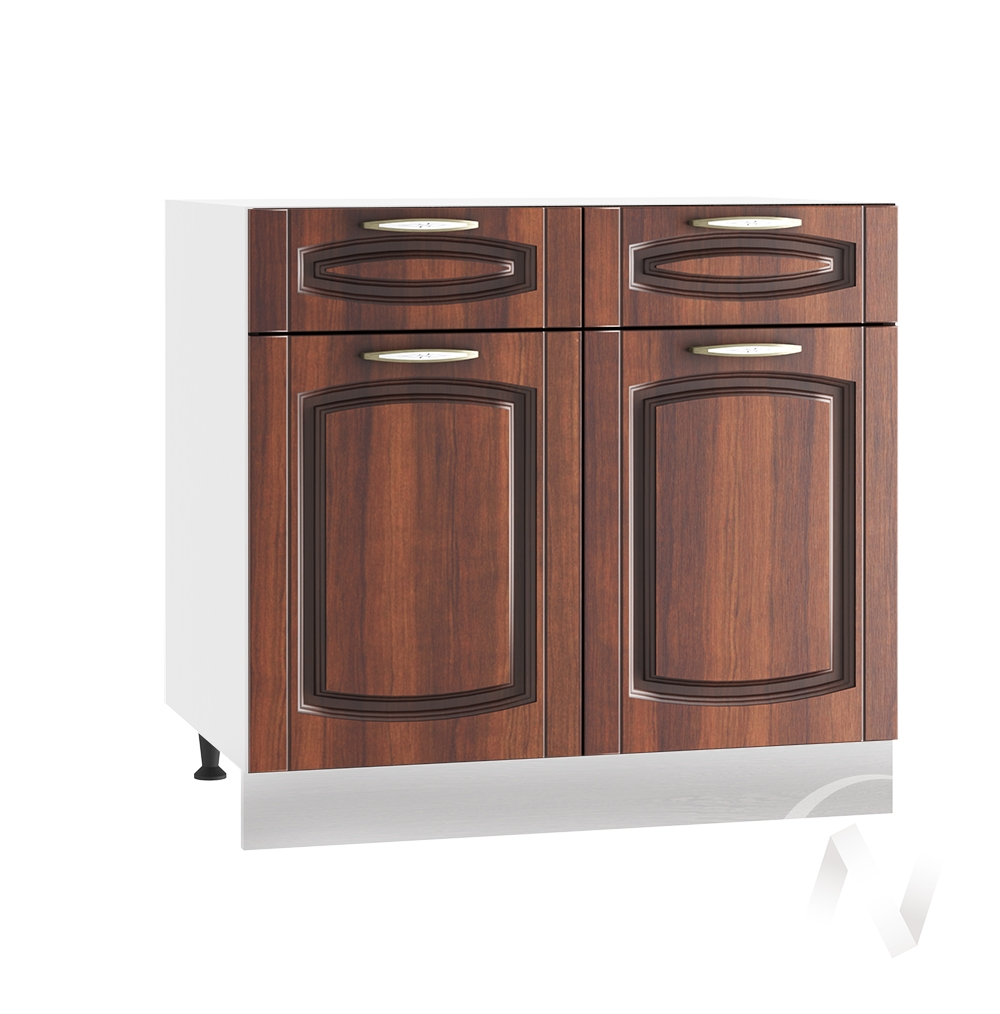 """Кухня """"Неаполь"""": Шкаф нижний с ящиками 800, ШН1Я 800 (Италия/корпус белый)"""