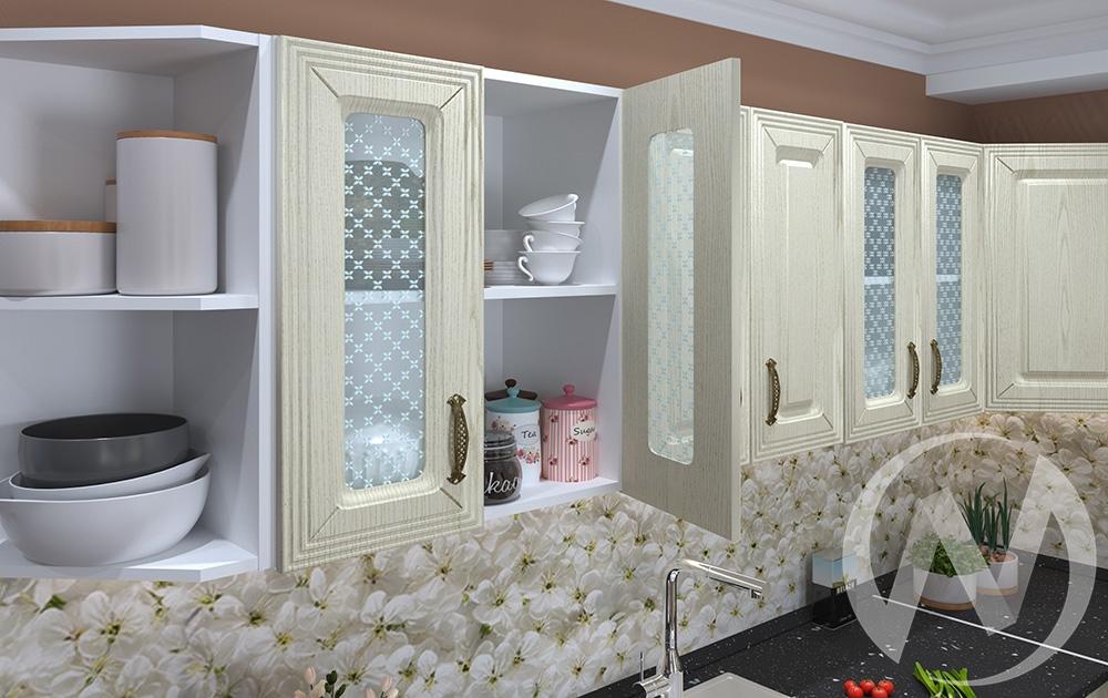 """Купить кухня """"изабель"""" (корпус белый) в Новосибирске в интернет-магазине Мебель плюс Техника"""
