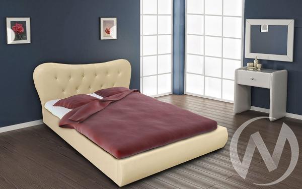 Кровать Лавита 1,6 с подъемным механизмом (бежевый)