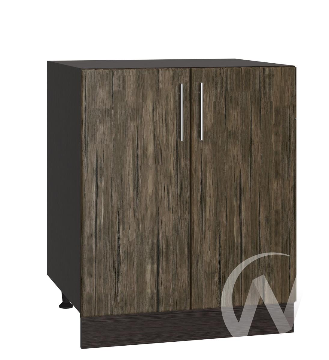 "Кухня ""Норден"": Шкаф нижний 600, ШН 600 (старое дерево/корпус венге)"