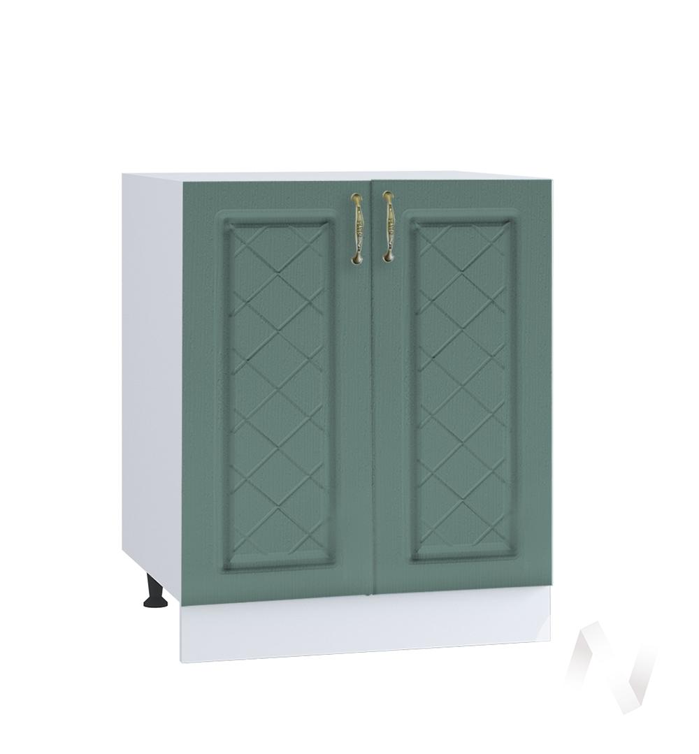 """Кухня """"Селена"""": Шкаф нижний 600, ШН 600 новый (Дуб бирюзовый/корпус белый)"""