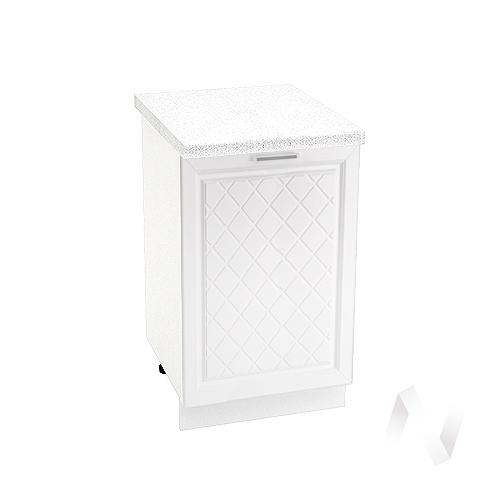 "Кухня ""Вена"": Шкаф нижний 500, ШН 500 (корпус белый)"
