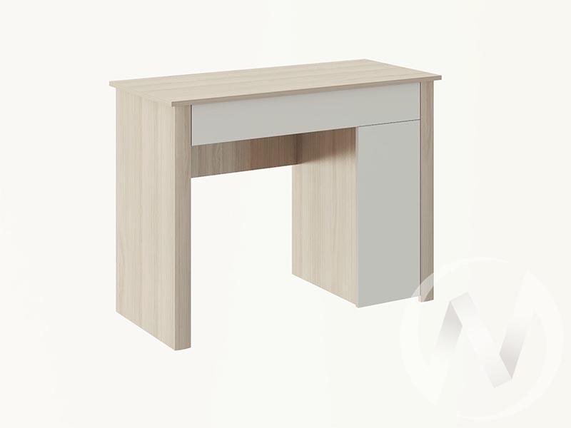Туалетный столик М28 Глэдис (ясень шимо светлый/белый)